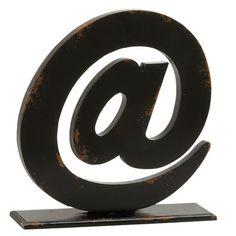 Spectacular Letter Block Sculpture #birchlane