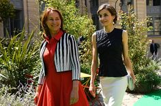 Queen Letizia attended the opening of the 2nd Global Conference on Health and Climate in Paris