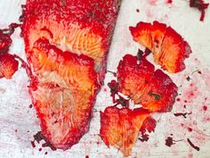 Beet-Cured Gravlax Recipe -   How to make (and use) this colorful salmon recipe #FoodRepublic