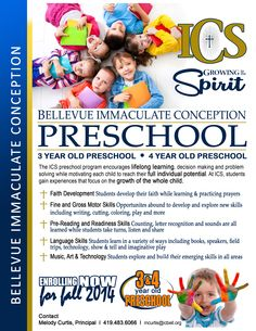 preschool advertising ideas daycare advertisements flyers for