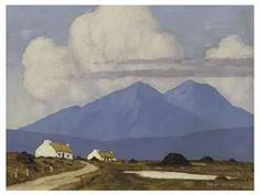 West of Ireland Cottages, Paul Henry, ca. 1926-1930