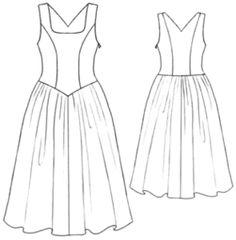 example - #5215 Evening dress