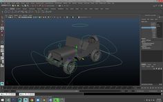 Maya tutorial : How to rig a vehicle