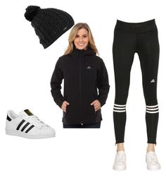 """""""wear adidas"""" by laisy-daisy ❤ liked on Polyvore featuring Burton, adidas and adidas Originals"""