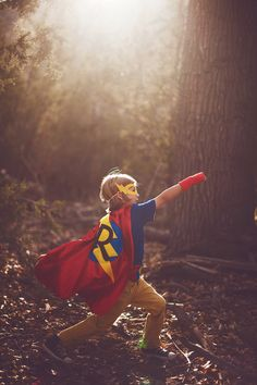 Spark your child's imagination with these handmade, custom superhero capes by Super Kid Capes. Saving the planet has never looked so gorgeous.