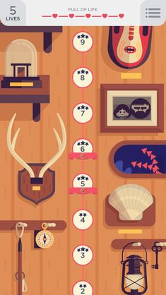 Two dots iphone app illustration, games, maps, home ui design. Game Ui Design, Ui Ux Design, Interface Design, Two Dots Game, Game Gui, Game Interface, Ui Design Inspiration, Game Concept, Mobile Game