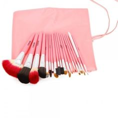 18pc Pro Pink Makeup Brush Set  from Taberna Meos for $39.99 on Square Market
