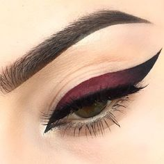 Ombre wing. You can achieve this look by using liquid lipstick/lip color!