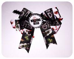3 The Walking Dead Hair Bow Bottlecap Hair by PrettyLittleTragic, $6.00