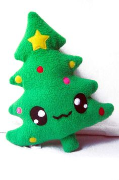 Fluse Kawaii Plush Chrismas Tree by Fluse123 on Etsy, €18.90