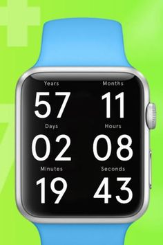 Life Clock, an Apple Watch app, uses and updates your health data to estimate and count down your lifespan. Minutes are added to your clock when you've been to the gym, and subtracted when you've slept too few hours.