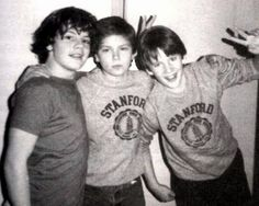 Jason Presson, River Phoenix, and Ethan Hawke - 1985 Loved the movie they were all in when I was a kid. Saw that it's on Netflix. Need to watch it with my kiddo.