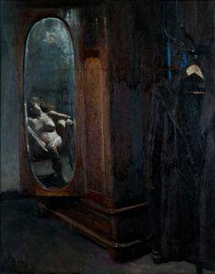 Giorgos Rorris (Greek, born Nude model in a mirror, 2012 via art-mirrors-art Large Painting, Painting & Drawing, Medusa Art, Greek Art, Renaissance Art, Beauty Art, Aesthetic Art, Figurative Art, Dark Art