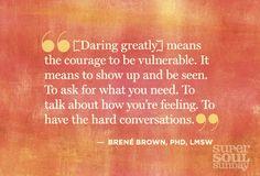 daring greatly ( v)