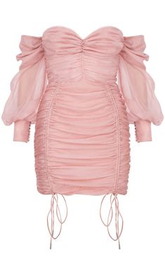 Carefully encased withing the soft feminine gathered chiffon of the outer layers is a proper corset designed for ultimate cinching and support. Kpop Fashion Outfits, Stage Outfits, Mode Outfits, Fashion Dresses, Pretty Dresses, Beautiful Dresses, Classy Outfits, Casual Outfits, Structured Dress