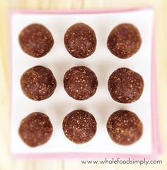 With 3 ingredients and little time you can whip up our Ferrero Rocher inspired snacks. Free from gluten, grains, dairy, egg and refined sugar. Enjoy.