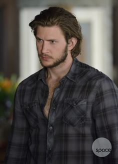 "FIRST LOOK: Greyston Holt as ""Clayton Danvers"" on #Bitten. #SpaceChannel."