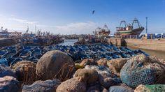 The port of Essaouira in Morocco by Maarten Hoek on 500px