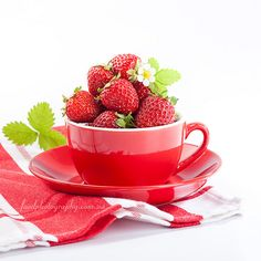 Strawberry, food photography
