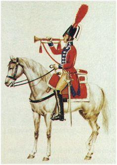 Regno di Spagna - Caballería de Línea del Rey 1804-14 Trompeta