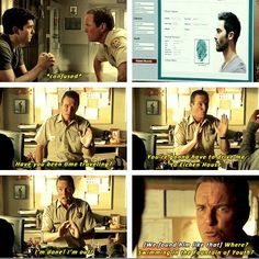 Teen wolf :D; Oh yeah, this is really funny! I guess sense of humour runs in the Stilinskis. Papa stilinski:D Teen Wolf Quotes, Teen Wolf Funny, Teen Wolf Memes, Teen Wolf Dylan, Teen Wolf Stiles, Teen Wolf Cast, Malia Tate, Derek Hale, Scott Mccall