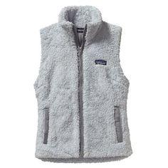 All the fuzzies: Patagonia Los Gatos Fleece Vest - Women's
