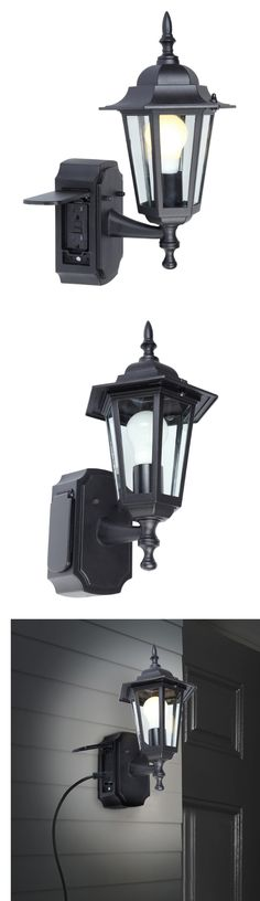 Outdoor Wall And Porch Lights 94939: Outdoor Black Wall Light Fixture Patio Porch  Exterior Sconce
