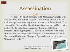 why was mahatma gandhi assassinated - Google Search