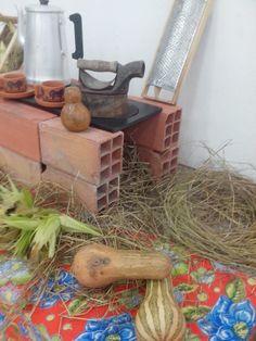 Decoração festa do milho.