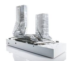 Competition model for a recent headquarters tower and retail hub project in Shenzhen China with multi-level connections to the adjacent park. . . . #thommayne #morphosis #morphosisarchitects #china #Shenzhen #arch #shouldawon #architecture #archicool #design #architecturecompetition #designcomp #model #architecturalmodel #architecturemodel #modelmaking #morphshop #3dprint #3dprinted