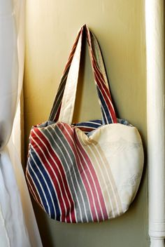 bag made out of a pillow case =)