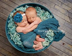 Baby Headband  Rich Couture Teal Shabby Chic by LilusBabyBowtique, $7.50