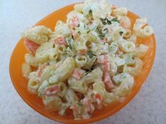 Warm Macaroni Salad