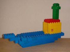 Met stappenplan:Duplo vehicle - Boat