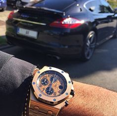 Audemars Piguet and Porsche.