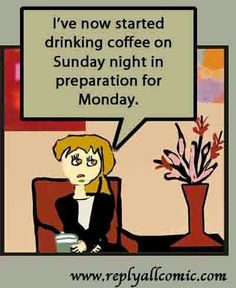 Anybody else try this?  Like if you think that it just might work!  #coffee #monday