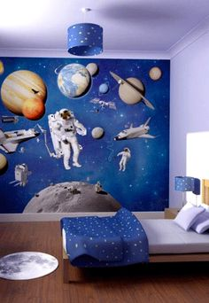 kinderkamer heelal