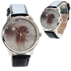 Unisex Watch for Men and Women. HEDGEHOG Watch. от ArinaDeco