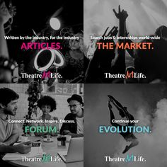 Join TheatreArtLife.com for unlimited access to ARTICLES, THE MARKET global career center, FORUM discussion network and EVOLUTION professional development opportunities. Contact membership@theatreartlife.com  to learn more. | TheatreArtLife.com World Premiere April 2017 | Igniting connections across the globe. An arena to share stories, new ideas, the latest technologies and work methods. We are driving development in live entertainment. Created by the industry for the industry.