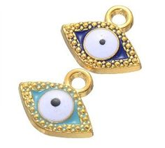 Amazon.com: Perfect Shopping 50 Mixed Turkish Enamel Evil Eye Bracelet Beads Scattered Beads Jewelry Accessories Diy Jewelry Making