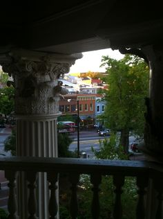 Downtown Athens, As Seen From UGA Holmes-Hunter Building, named for the first two African American students admitted to the university, Charlayne Hunter-Gault and Hamilton Holmes.