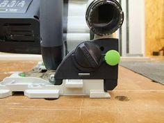 Michas Holzblog: Tipp: (Schnitt)Winkeljustage an einer Festool TS(C) 55 R Festool Ts 55, Usb Flash Drive, Woodworking Jigs, Simple Machines, Tips, Usb Drive