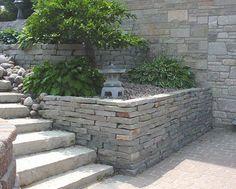 Chilton Retaining Wall Stone by Buechel Stone, via Flickr