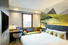 ibis Styles Ambassador Seoul Gangnam; Superior Double room Unique & Stylish Lifestyle Hotel