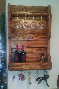 Pallet Wine Rack por PalletableUpcycling en Etsy