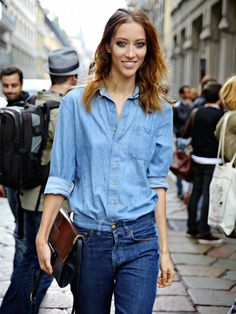Find out how to get instant cool-girl vibes. via @WhoWhatWear