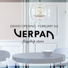 VERPAN: Grand Opening - Verpan Flagship Store http://www.davincilifestyle.com/verpan-grand-opening-verpan-flagship-store/   🍾 GRAND OPENING! 🍾 Come to the opening party of the new Verpan Flagship Store, where we February 3 opens the doors of our beautiful new store in the heart of Aarhus. There will be a delicious competition in the shop during the day, opening offers on selected products, and get the opportunity to see the final result of our beautiful store. Remembe