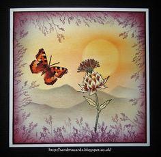 Sandma's Handmade Cards: Chocolate Baroque