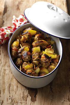 Little Lamb Kabobs Braai Recipes, Lamb Recipes, Wine Recipes, Food Network Recipes, Cooking Recipes, Savoury Recipes, South African Recipes, Food Hacks, Hacks Diy