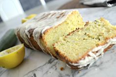 Miss homemade zucchini bread? This wonderful keto lemon zucchini bread is so delicious you'd think it was high-carb. Lemon Zucchini Loaf, Lemon Bread, Zucchini Bread Recipes, Zucchini Cake, Banana Bread, Low Carb Sweets, Low Carb Desserts, Healthy Desserts, Dessert Bread